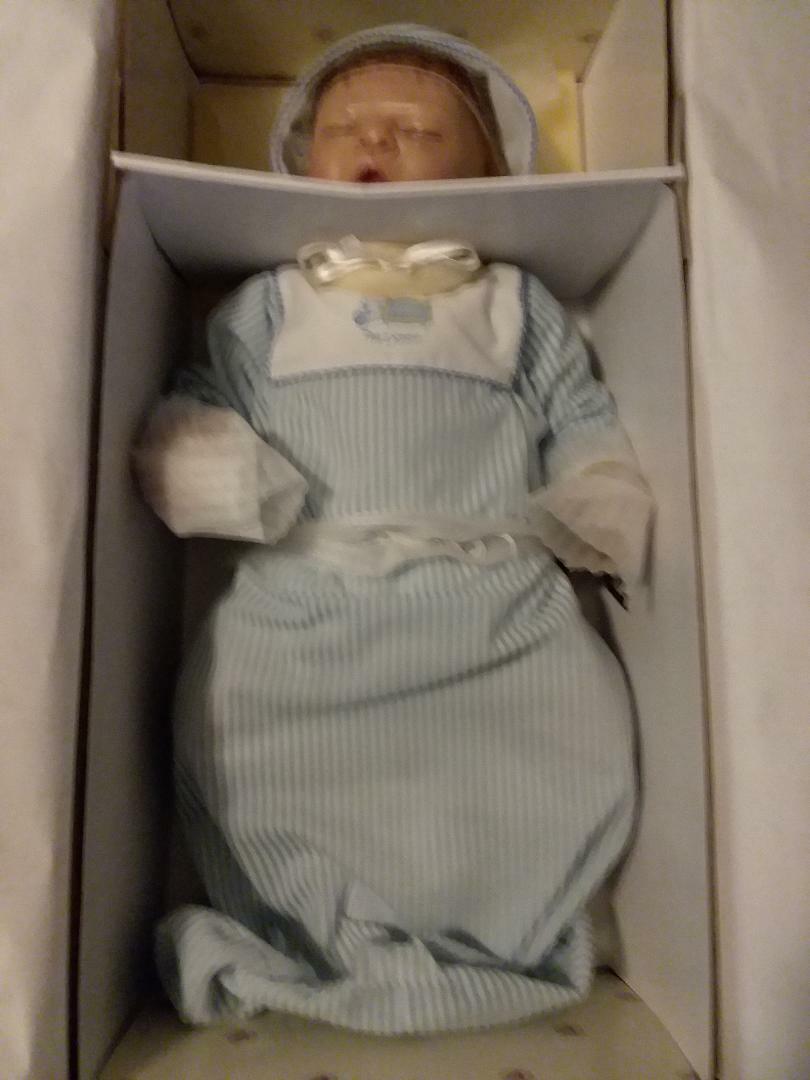 Ashton Drake Doll Company, Sammlung, great condition, Good Night Kiss 4 Jack