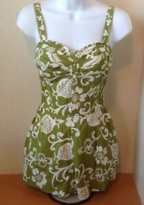 9323cf51eb615 Image is loading Vintage-1950-60s-Kahala-Ladies-Green-Pineapple-Lined-