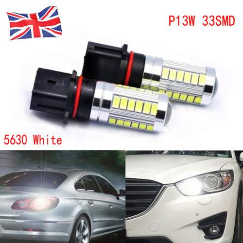 For Audi Q5 33 LED P13W PSX26W DRL Fog Canbus No Error Daytime Running Light