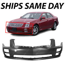 05-07 STS Base Front Bumper Cover Assembly Primed w//Tow Hook GM1000756 12335935