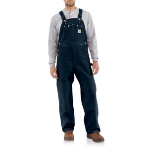 CarharttR01 Duck BIB Overalls//Unlined 102776Black Big /& Tall Sizes