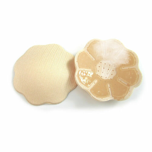 New Nude Cute Reusable Adhesive Silicone Breast Nipple Cover Pasties Pad