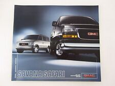 2005 GMC Savana / Safari Van SLE SLT 1500 3500 Sales Brochure Catalog Literature