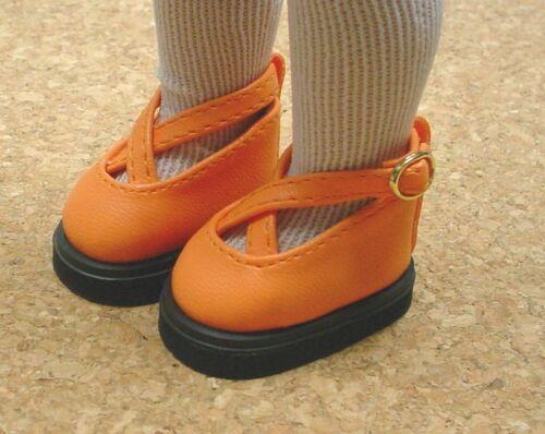 "FAR RIGHT BOTTOM ROW Cutie KK Shoes Ann Estelle 45mm YELLOW fits 10/"" Patsy"