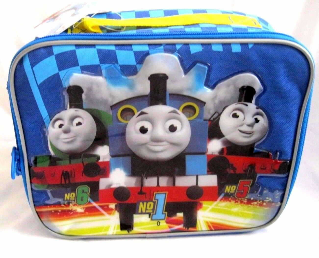 THOMAS THE TRAIN AND FRIENDS Blau INSULATED LUNCH BAG LUNCHBOX-BRAND NEW