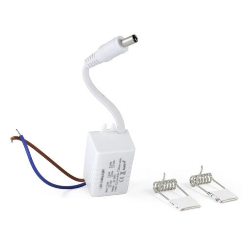 6W Ultraslim LED einbau Panel Eckig Einbauleuchte Unterbau SMD Flach 3W