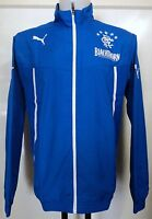Glasgow Rangers 2013/14 Blue Woven Jacket By Puma Adults Size Medium Brand