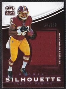 9ea96c570 Image is loading Samaje-Perine-2017-Crown-Royale-Jumbo-Rookie-Silhouette-