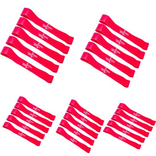MEDIUM moyen rouge Dittmann rubberband élastique effort force