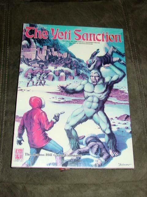 Avalon Hill 1984 Yeti Sanction Operation Snowman (SEALD)