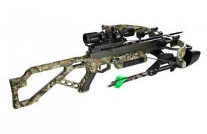 New Excalibur Micro Axe 340 Crossbow Package Mossy Oak Camo