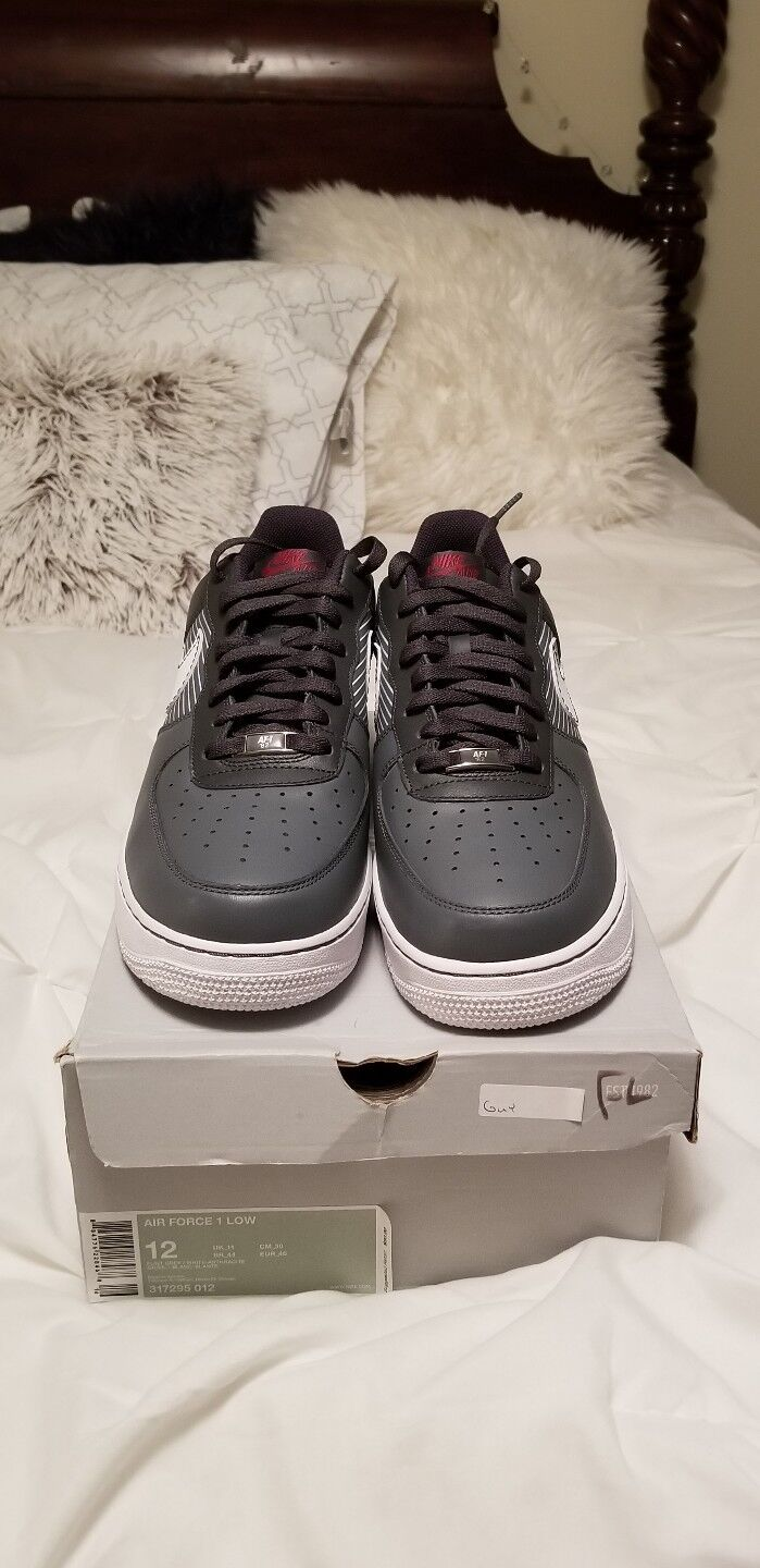 Nike Air force 1 low 07 Flint Grey White Anthracite