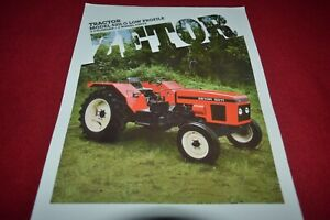 Case Tractor 644 646 Compact Tractor Loader Dealer/'s Brochure MFPA2
