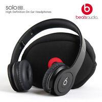 Beats By Dr. Dre Solo Hd Monochrome Black Headband Headphones - Matte Black