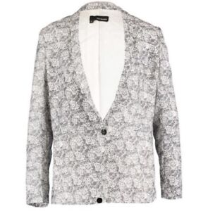 7af0dca989 The Kooples Women Lace Print Blazer Size:12Uk /38 BNWT RRP:255 Euro ...
