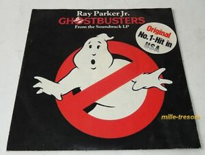 Disque-45-tours-FILM-GHOSTBUSTERS-Ray-PARKER-Jr-Soundtrack-LP-N-1-Hit-USA