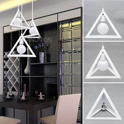 Triangle Pendant Lights Chandelier Vintage Industrial Ceiling Lighting Lamp