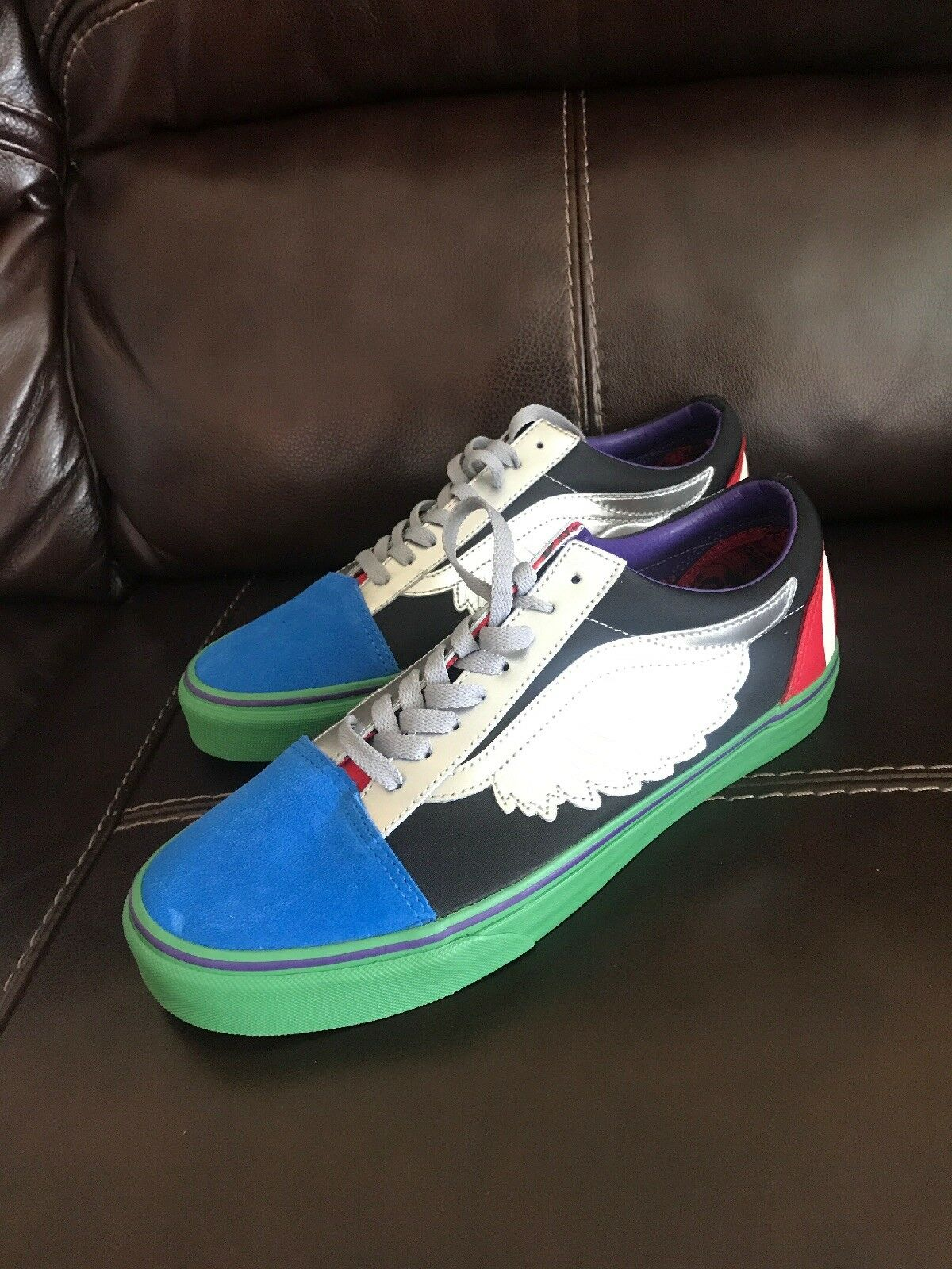 Vans X Marvel Old Skool Size 9 Men