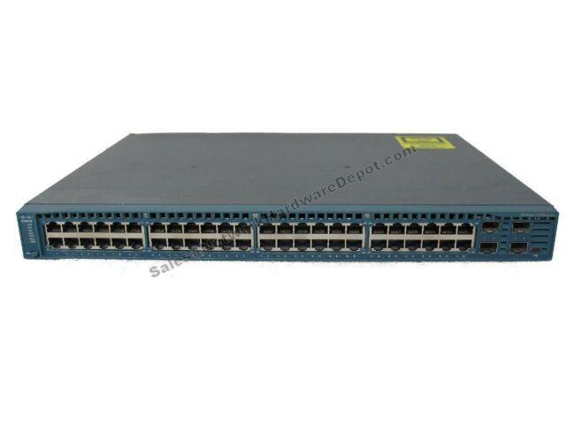 Cisco WS-C2360-48TD-S 48-Port Gigabit Switch w/ AC Power - 1 Year Warranty