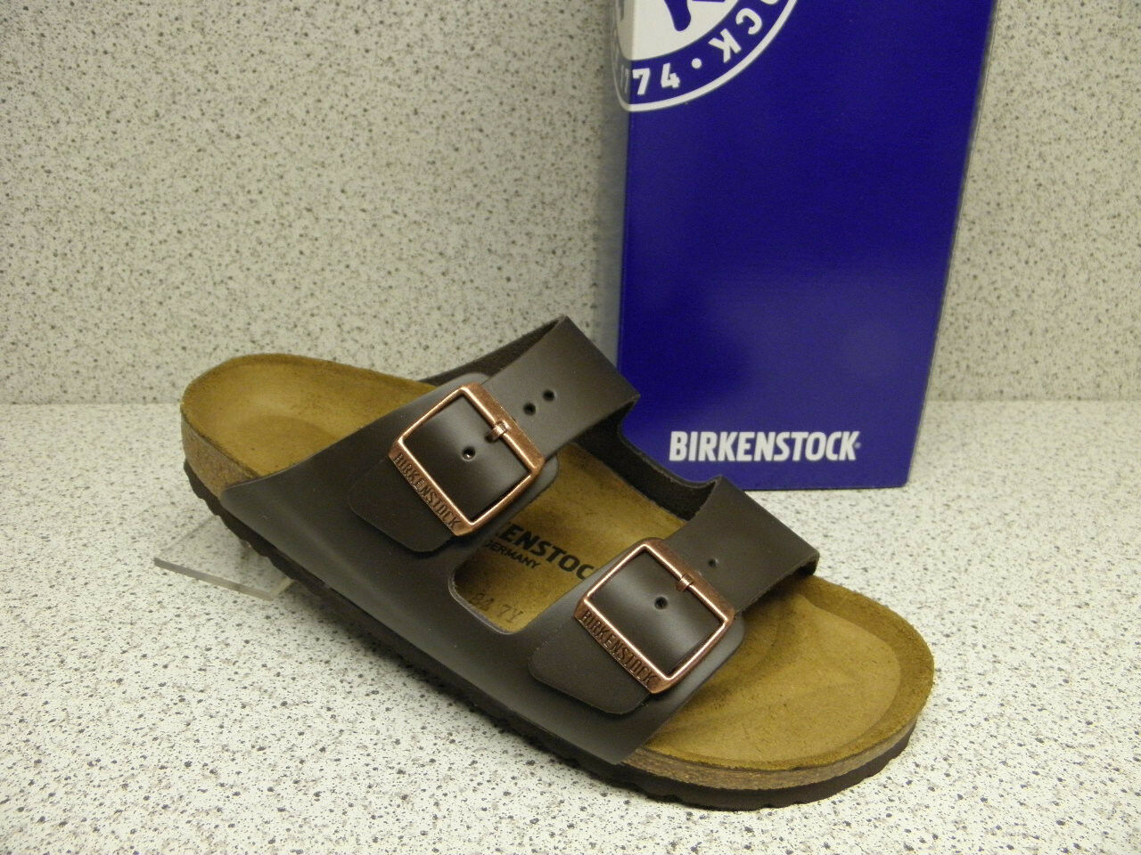 Birkenstock ® reduziert  Arizona  Leder  braun  Nr. 051103 (Bi7)