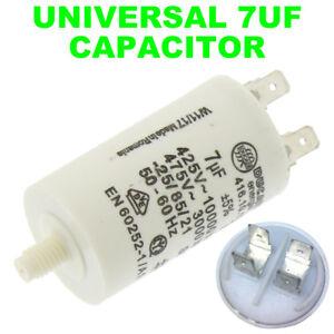 UNIVERSALE Lavastoviglie Asciugatrice Condensatore Motore 10UF