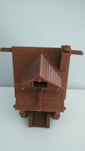 "Choose Main Color! 9/"" 23cm Bungalow Estate Bird House 3D Printed in USA"