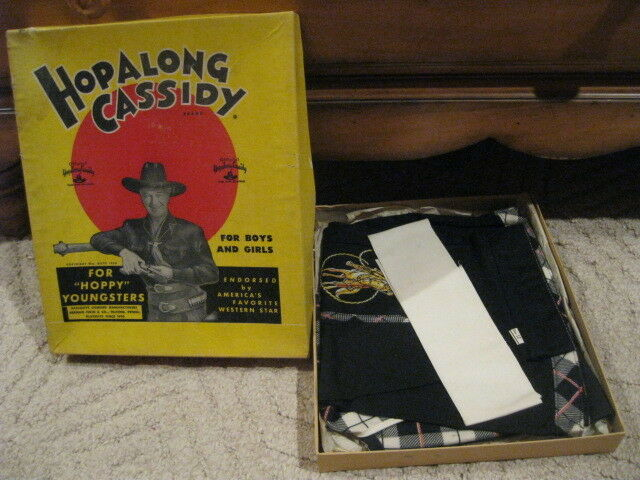 "Cowgirl 12 Official Hopalong Cassidy ""Complete Outfit for ""Hoppy"" Youngsters Youngsters Youngsters Box 3d0d4f"