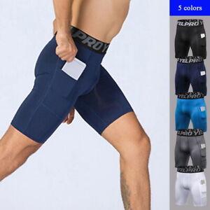 Sport-Men-039-s-Compression-Boxer-Shorts-Base-Layer-Brief-Pants-Running-Gym-Shorts