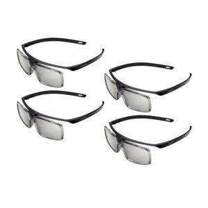 Pack of 4 Genuine TDG-500P Passive 3D Glasses TGD500P for Sony 3D TV