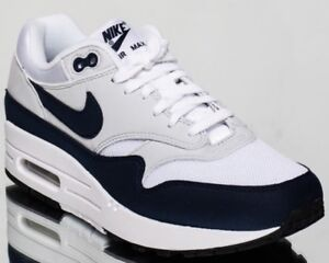 Image is loading WOMENS-SHOES-WHITE-NAVY-OBSIDIAN-NIKE-AIR-MAX- 528a19c14