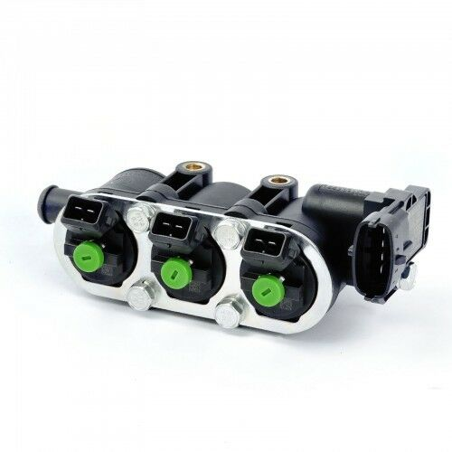 grün 25-22 Rail mit Sensor LPG GPL Landi Injektor Landirenzo 3Zyl