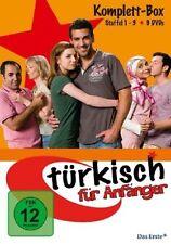TÜRKISCH FÜR ANFÄNGER KOMPLETTBOX STAFFEL 1-3 (NEU) 9 DVD NEU