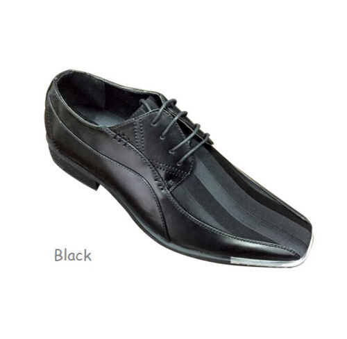 Men/'s Elegant Synthetic Oxfords Striped Party Wear Shoes #5754 Size 8.5-13