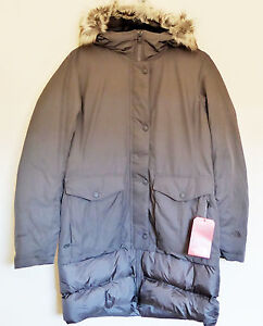 meilleur service 0d5e4 6b2ab Details about The north face women parka tuvu 550-fill jacket puffer jacket  trench coat gray m- show original title
