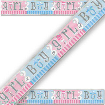 Baby Shower Gender Reveal Party Blue Pink Unisex Girl Boy Tableware Supplies