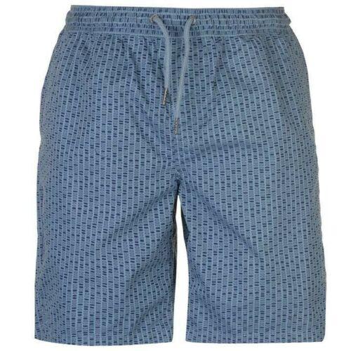 Mens Branded Pierre Cardin Lightweight Pockets AOP Dock Chino Shorts Size S-XXL