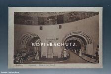Ansichtskarte Hamburg Blick in den Elbtunnel vermutlich um 1925