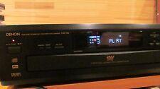 DENON   5 DVD - CD PLAYER / 5 DISC CHANGER      MODEL DVM-1800
