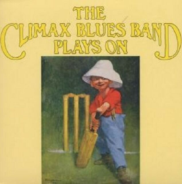 """CLIMAX BLUES BAND """"PLAYS ON"""" CD NEUWARE!"""
