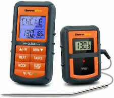 Remote Wireless Cooking Thermometer Digital Oven Meat Thermometer Smoker &Timer
