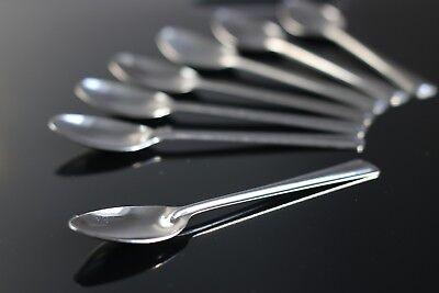 12 Solide cuillère à café pour une utilisation quotidienne en acier inoxydable 18//0 metal Tea Spoon Set