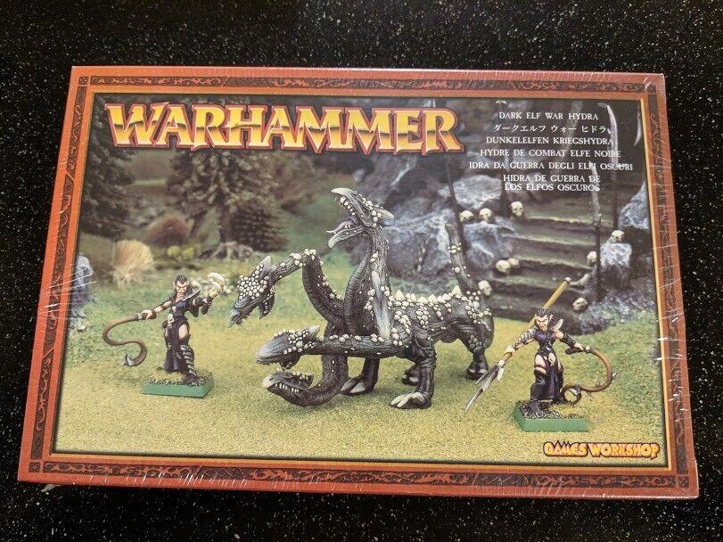 Warhammer Fantasy Dark Elf War Hydra New Metal Age of Sigmar NIB