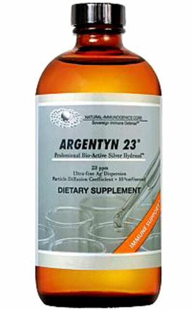 Natural Immogenics Argentyn 23 Silver Hydrosol 32 Oz For Sale Online Ebay