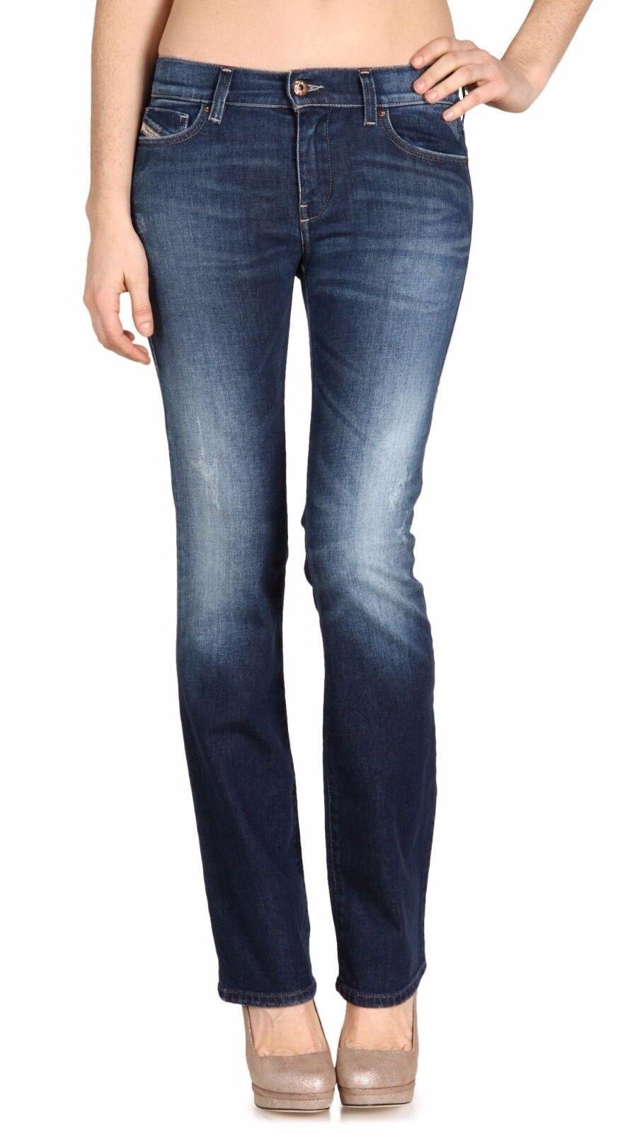 Diesel BOOTZEE Bootcut Regular Waist Slim Fit Jeans 0808T Medium 24x32 Nwt  198