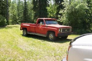 1974 Chevrolet C30 1 Ton Dually Camper Special