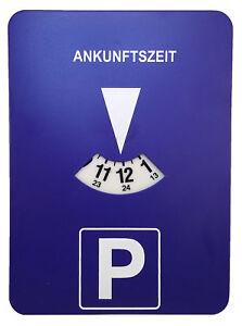 Mitlaufende Elektronische Parkscheibe Parkuhr mit Uhrwerk Uhr Auto parken NEU