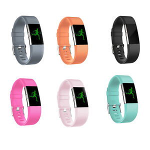 Replacement-Silicone-Rubber-Band-Strap-Wristband-Bracelet-For-Fitbit-CHARGE-2