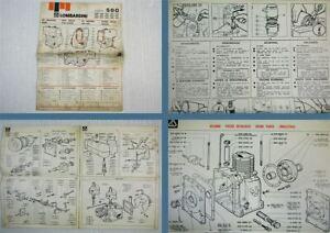Lombardini-Serie-500-Bedienung-Wartung-Ersatzteile-1978