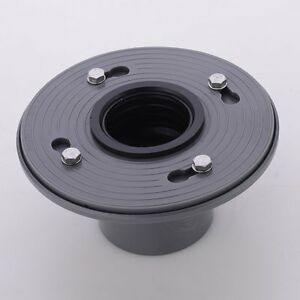 Image Is Loading PVC Shower Drain Base With Rubber Gasket Floor