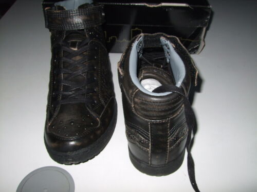 Nuevo 4 Negro Tops Cuero Tamaño Alura Uk Us Bench Zapatos 37 Hi 5 Mujer 5 Zapatillas SHqnZPx